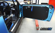We're just putting finishing touches to two Lohen​ development projects in the workshop today. Mark Whittingham's stunning R53 is the first MINI to receive a set of Lohen Door Cards and a brand new Lohen Foot Plate.   Designed in-house, these products will be available for Gen 1 & Gen 2 owners to buy very soon - details and prices coming over the next couple of weeks!  #Lohen - #LohenMINI - #MINI