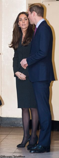 Kate & Will at South Africa House to sign the Nelson Mandela book of condolence 12/12/13