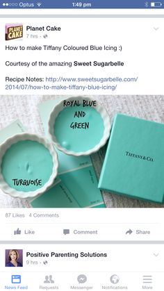 How To Make Tiffany Blue Candy Using Wilton Candy Melts