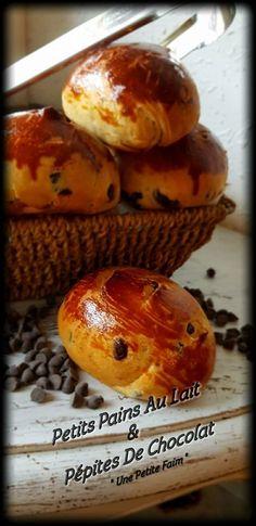 Petits Pains Au Lait & Pépites De Chocolat
