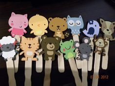 Stick Puppets using Cricut CAC