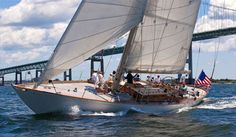 Wild Horses, 1998 - Spirit of Tradition yacht