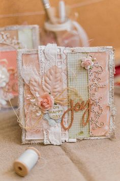 A 15*15 greeting card for those who really appreciate tender rustic style and beauty ☺️🌸
