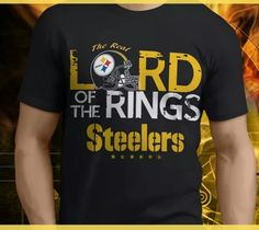 PITTSBURGH STEELERS~ LORD OF THE RINGS T-SHIRT.