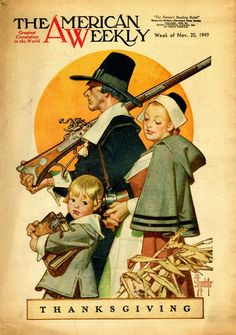 J. C. Leyendecker   - Thanksgiving - The American Weekly