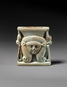 Hathor Head Amulet
