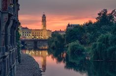All things Europe / Oradea, Romania (by Dan Dragos) Places In Europe, Places Around The World, Places To Visit, Around The Worlds, Beautiful Sunset, Beautiful World, Beautiful Places, Beautiful Scenery, Amazing Places