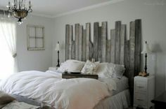 Diy wooden bedroom idea