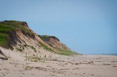 Beach cliffs #Eastham #MA