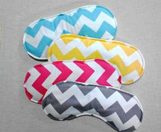 CHEVRON EYE PILLOW Rice pack rice pillow Cold pack hot pack Headache migraine stress