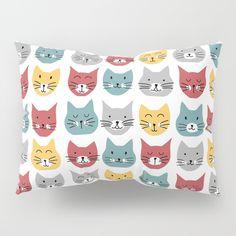 Kittens pattern Pillow Sham