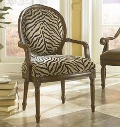 Black And White Zebra Print Arm Accent Chair. Great Accent Home Decor . Animal Print Arm Chair Foter - Accent Chairs Ideas For Home White Accent Chair, Accent Furniture, Living Room Furniture, Furniture Ideas, Flip Furniture, Wolf Furniture, Powell Furniture, Furniture Logo, Houses