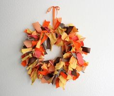 bunches of fall wreaths