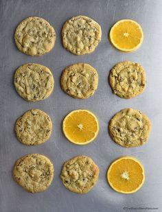 Orange Chocolate Chip Cookies Recipe   shewearsmanyhats.com