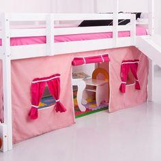Cortina_tipo_Tenda_Rosa-Pink_para_Cama_com_escorregador_-_Casatema_