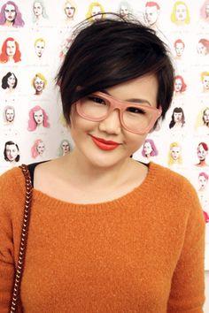 Cute look: Tracy Wang, freelance photographer
