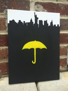 How I Met Your Mother Canvas Art - pinned by pin4etsy.com