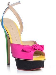 Charlotte Olympia Serena shoes Charlotte Olympia