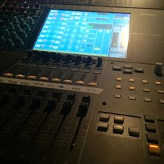 Sound board Lucky Mule... Mixing it up!