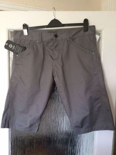 CORE by Jack & Jones mens jeans Workwear shorts XXL BNWT RRP£35 Pewter