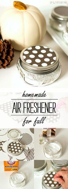Homemade Air Freshener for Fall Scent