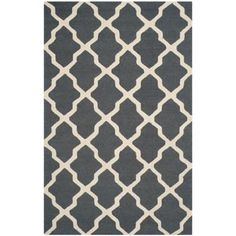 Safavieh Cambridge Dark Grey/Ivory 4 ft. x 6 ft. Area Rug-CAM121X-4 - The Home Depot