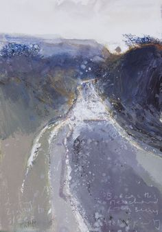 Kurt Jackson - Driving Zinzi to sleep. Boscastle& Meachard from Beeny. Landscape Artwork, Contemporary Landscape, Watercolor Landscape, Abstract Landscape, Abstract Art, Abstract Paintings, Kurt Jackson, Scenary Paintings, Historia Natural