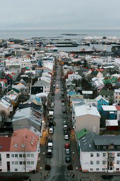 Reykjavik in Iceland / photo by Lana