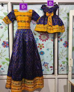 Baby Girl Dress Design, Girls Frock Design, Long Dress Design, Kids Frocks Design, Baby Frocks Designs, Girls Dresses Sewing, Frocks For Girls, Dresses Kids Girl, Mom Daughter Matching Dresses
