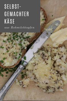 selbstgemachter Käse aus Rohmilchtopfen, ein typisches altes Gericht aus Oberösterreich / Innviertel. Lab, Der Handel, Mashed Potatoes, Grains, Rice, Ethnic Recipes, Food, Homemade, Easy Meals