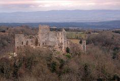 Le château de Saissac