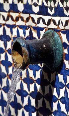 Malaga tiles - Spain