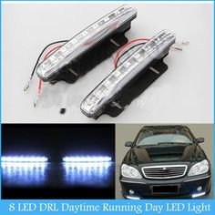 Find More Daytime Running Lights Information about 2X Car 8 LED DRL Driving Daytime Running Day LED Light Head Lamp Super White H2330,High Quality lamp shades wall lights,China lamp aluminum Suppliers, Cheap lamp light bulb from HongKong Adeals Auto Technology Co. Ltd  on Aliexpress.com