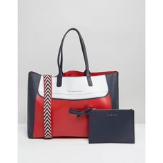 Tommy Hilfiger Gigi Hadid Colourblock City Tote Bag (530 ILS) ❤ liked on Polyvore featuring bags, handbags, tote bags, multi, handbags totes, man tote bag, tote hand bags, city tote and tote handbags