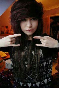 #emo #girl #awesome