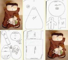 Costurinhas da Duda: Bonecas e bonecos em feltro