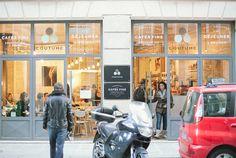 Coutume - coffee shop - rue de Babylone 7ème arr.