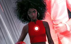 Marvel Comics' recent introduction of Riri Williams, a black MIT science prodigy taking up the Iron Man mantle, continues the publisher's efforts...