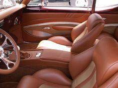 1967 Camaro Custom Leather Interior. Interiors by Shannon.com (Upholstery) Custom Car Interior, Car Interior Design, Truck Interior, Camaro Interior, American Restoration, Boat Upholstery, Custom Camaro, 1967 Camaro, Leather Car Seats