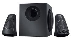 Los #altavoces #Logitech Speaker System Z263 tienen un sonido 2.1 impactante. La certificación THX significa calidad en la que puede confiar