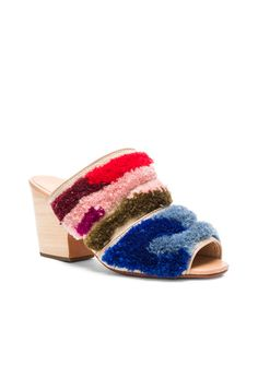 b5665f5eaa01 Shop for Rachel Comey Dahl Mules in Abstract at FWRD.