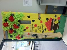 Fall Bulletin Board--Enjoyed doing this :)