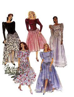 Vintage 1990s McCalls 5132 Evening Gown by DesignRewindFashions, $9.00