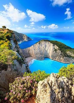 The amazing colors of Zakynthos, Greece.