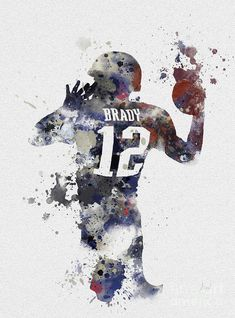 Tom Brady Wallpaper, Patriots Quarterbacks, New England Patriots Football, Football Art, Football Players, Football Wallpaper, Foto Art, Sports Art, Sports Pics