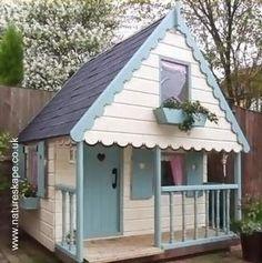 Arquitectura de Casas: Casas infantiles de jardín para residencias.