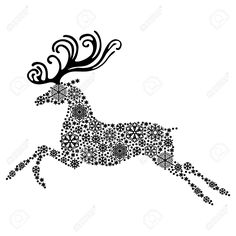 5,622 Reindeer Horns Stock Illustrations, Cliparts And Royalty ...