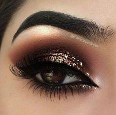 Love This Helpful Eye Makeup For Beginners Pic # 0244 . Love this helpful eye makeup for beginners Pic # 0244 shadow colors for BROWN eyes, colorsBest ma. Makeup Eye Looks, Eye Makeup Art, Smokey Eye Makeup, Makeup For Brown Eyes, Cute Makeup, Eyeshadow Makeup, Hair Makeup, Glam Makeup, Brown Eye Makeup Tutorial