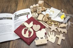 Unfinished Ornament Kit – The 25 Days of Christ