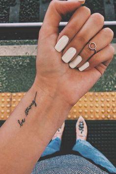 35 Subtle Tattoo Ideas Even Your Parents Will Like Small tattoo,Amazing tattoo,charming tattoo Strong Tattoos, Subtle Tattoos, Sexy Tattoos, Hand Tattoos, Girl Tattoos, Pretty Tattoos, Fashion Tattoos, Sister Tattoos, Tatoos